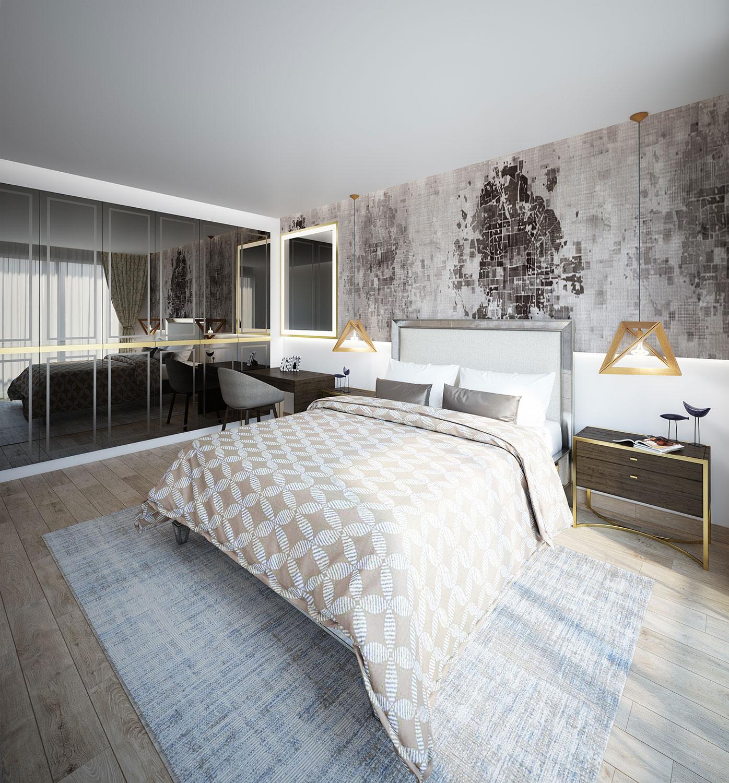 Mockup Apartment Interior Design Edoc Architects